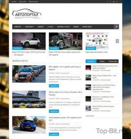 Купить Автонаполняемый автомобильный портал (Премиум) Top-Bit