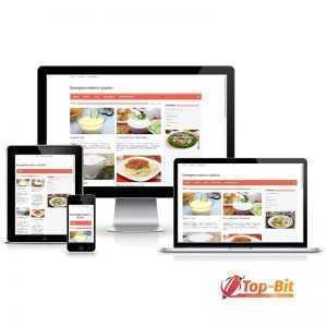Купить Автонаполняемый кулинарный портал (Премиум)