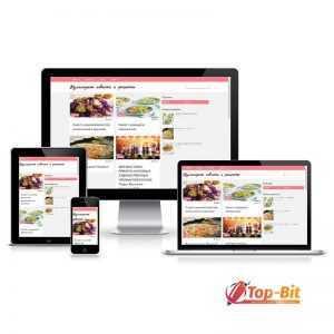 Купить Автонаполняемый кулинарный блог