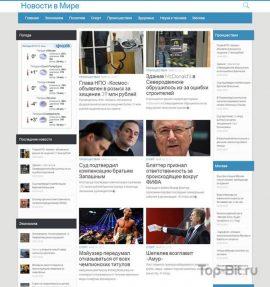 Купить готовый Автонаполняемый новостной сайт
