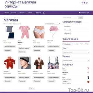купить Интернет магазин одежды