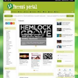 Купить готовый сайт Автонаполняемый Торрент портал