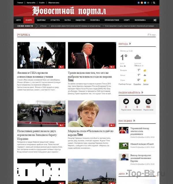 Купить готовый сайт Автонаполняемый новостной портал премиум