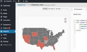 Использование MapSVG для создания интерактивных планов и карт на сайте. Уроки wordpress