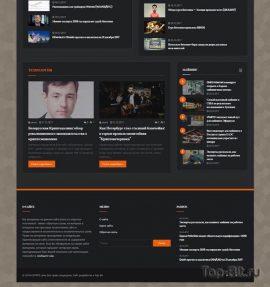 Купить готовый Автонаполняемый новостной финансовый сайт CRYPTO cave