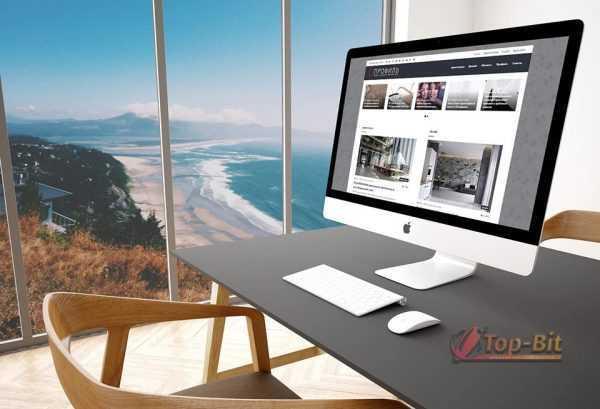 Купить Автонаполняемый сайт архитектуры и дизайна Профиль
