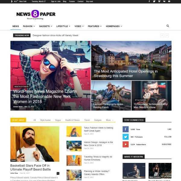 Шаблон NewsPaper на кнопку top-bit