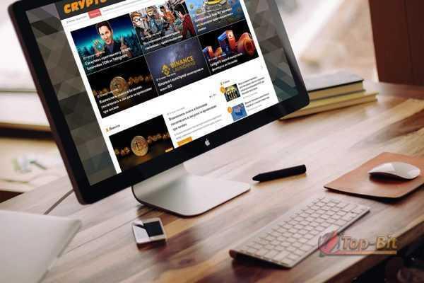 купить Автонаполняемый новостной финансовый сайт Криптовалюты