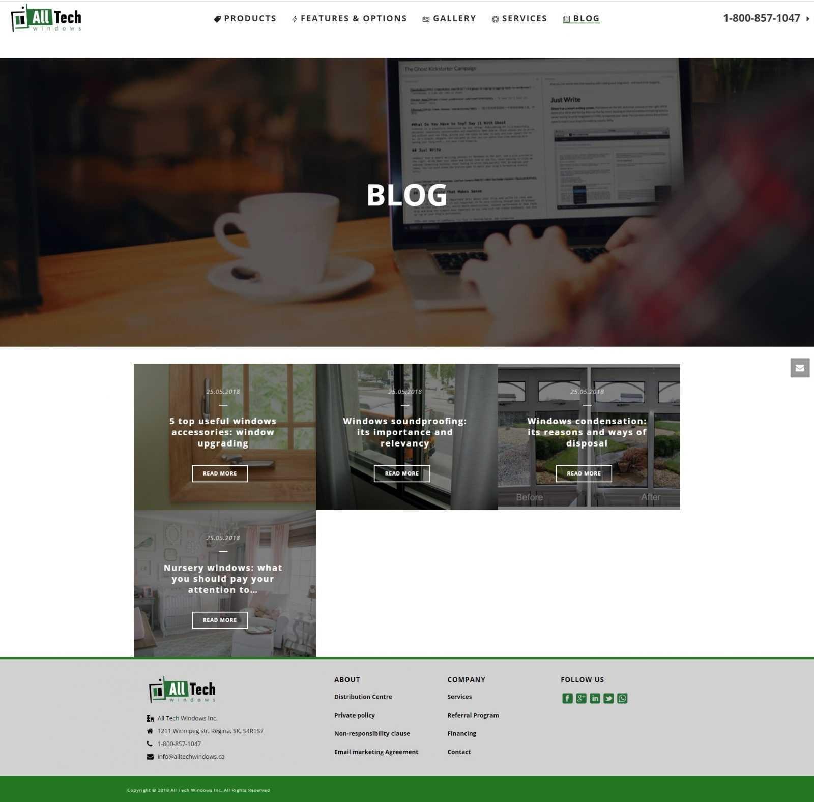 Блог компании All Tech Windows
