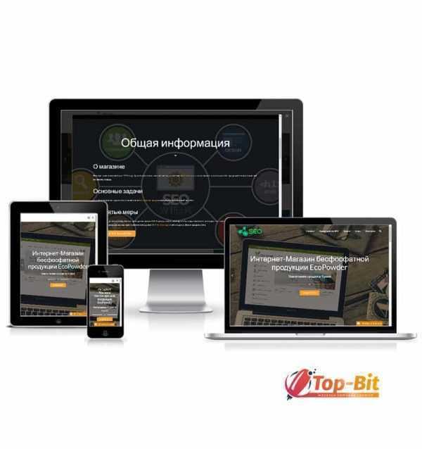 Купить готовый Landing Page предоставлению услуг SEO