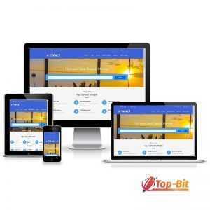Купить готовый Сайт-визитка Турист онлайн бронирование