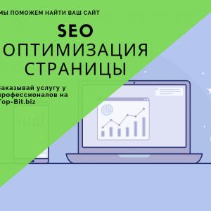 Заказать SEO оптимизацию страниц сайта