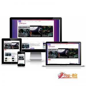 Купить Автонаполняемый новостной сайт Игрок