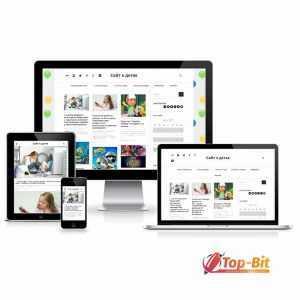 Купить Автонаполняемый сайт о детях