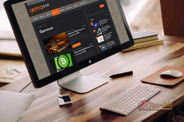 купить Автонаполняемый новостной финансовый сайт CRYPTO cave