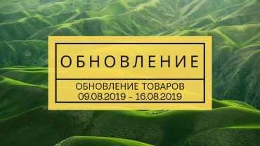 Обновление товара 16.08.2019