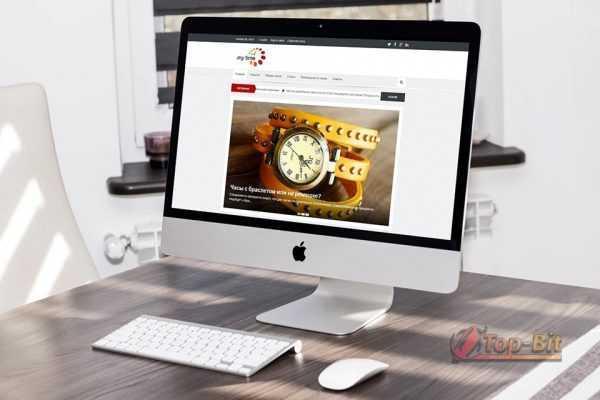 Купить Автонаполняемый сайт про Часы