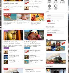 Дизайн сайта на Jarida