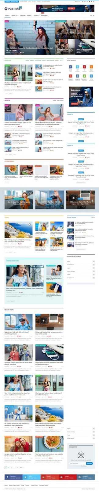 Дизайн сайта на Publisher