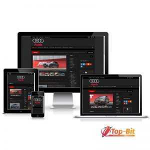 Купить Сайт про Audi