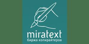 Логотип партнера Миратекст