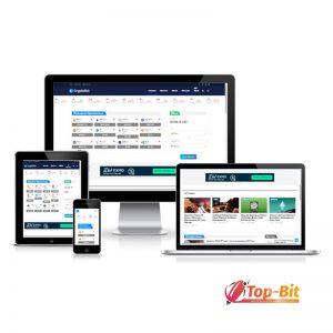 Купить Автонаполняемый портал Новости Криптовалюты (Duplicator)